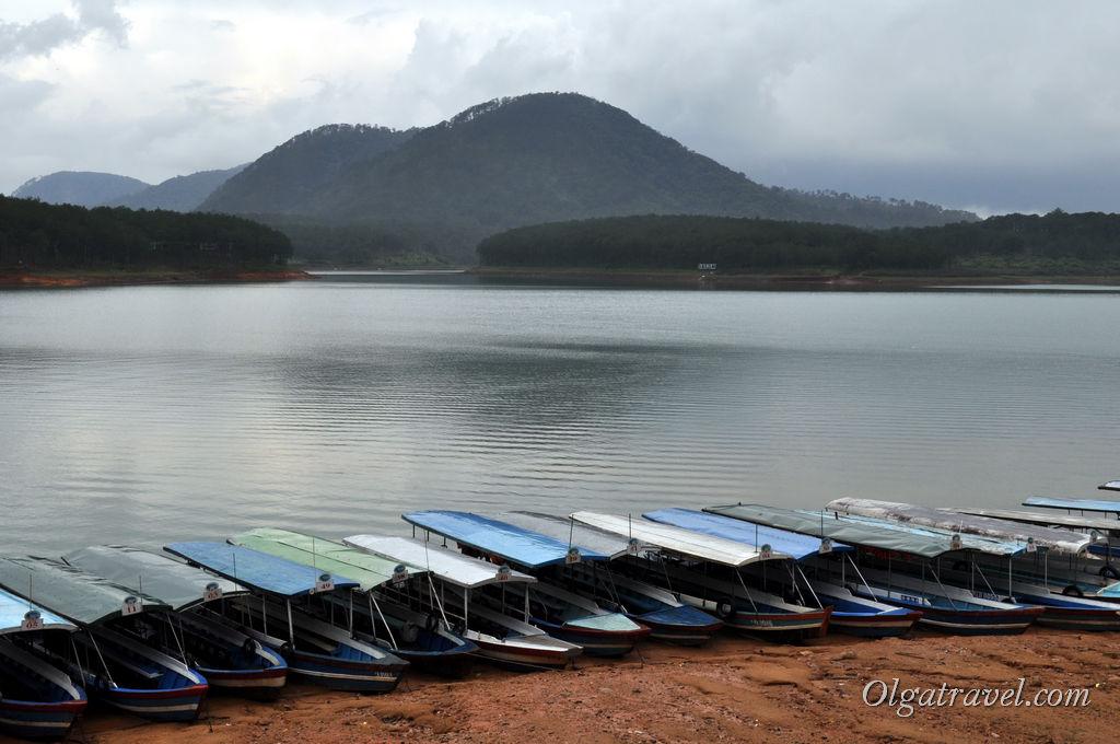озеро Далат