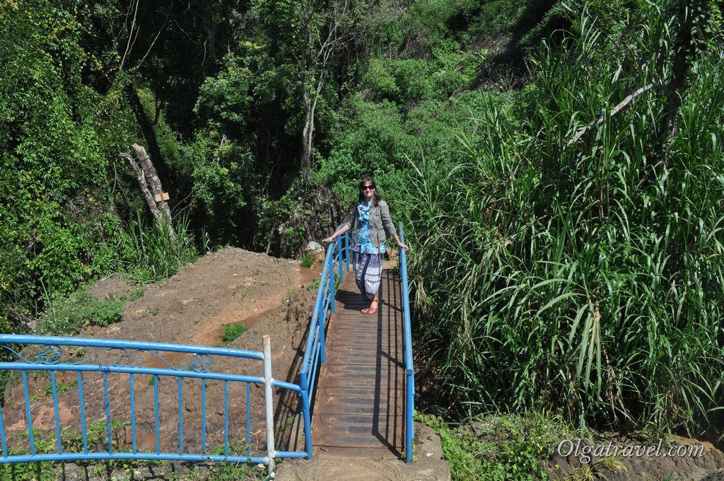 Слоновий водопад Далат