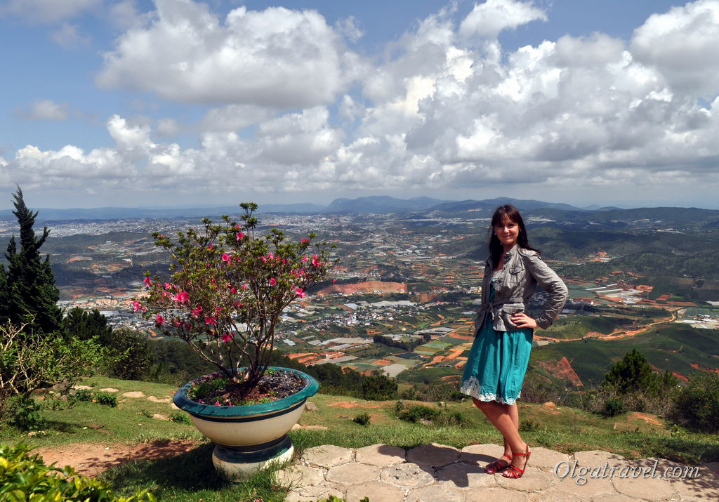 Далат гора Лангбианг