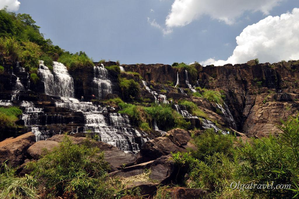 водопад Понгур Вьетнам