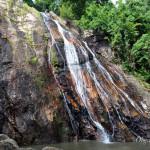 Водопад Намуанг 1 и где покормить слонов на Самуи