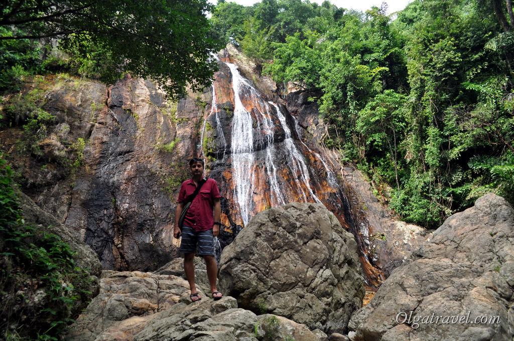 водопад Намуанг 1 Самуи