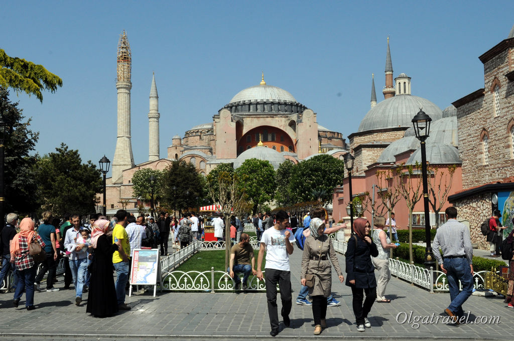 ай София Стамбул
