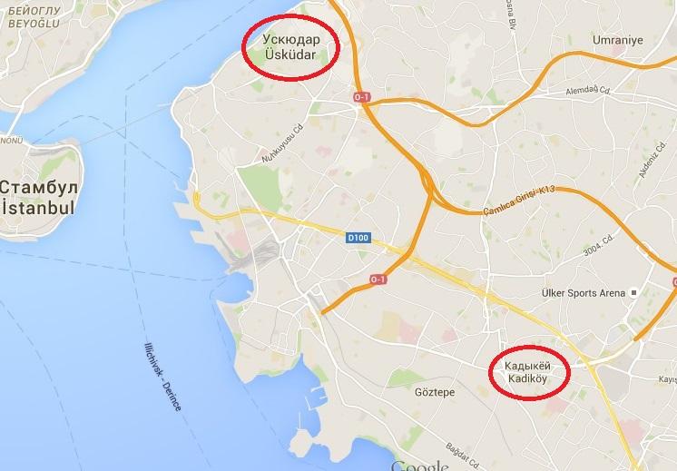 Где остановиться в Стамбуле: районы Стамбула, выбор ...