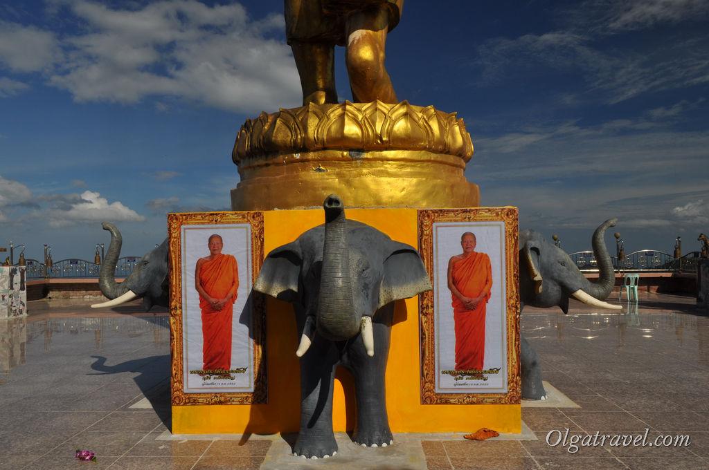 Большой Будда в горах Самуи