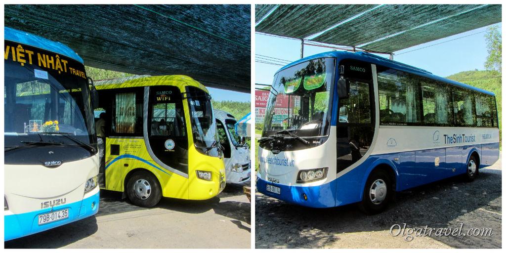 автобус в Далат