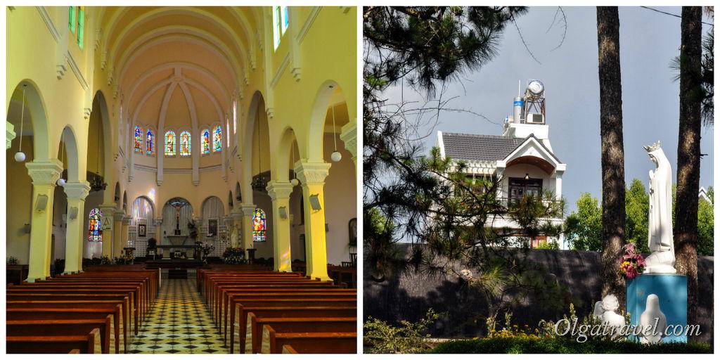 Католическая церковь Далат
