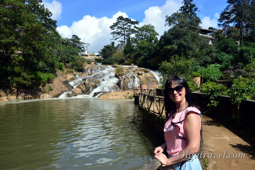 Водопад Камли