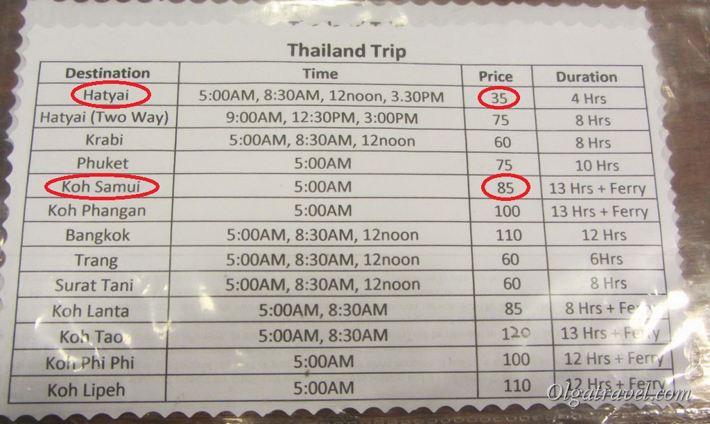 Penang_Thailand_bus_price