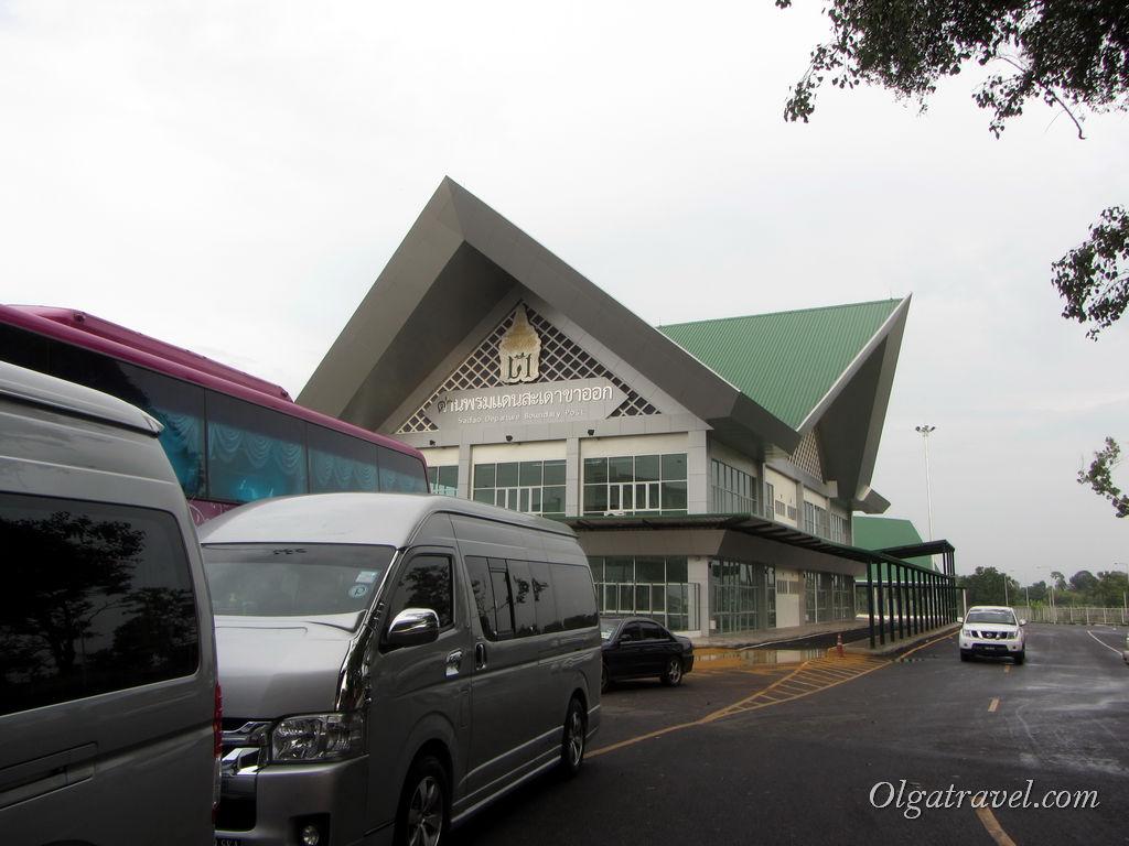 Подъехали на тайско-малазийскую границу