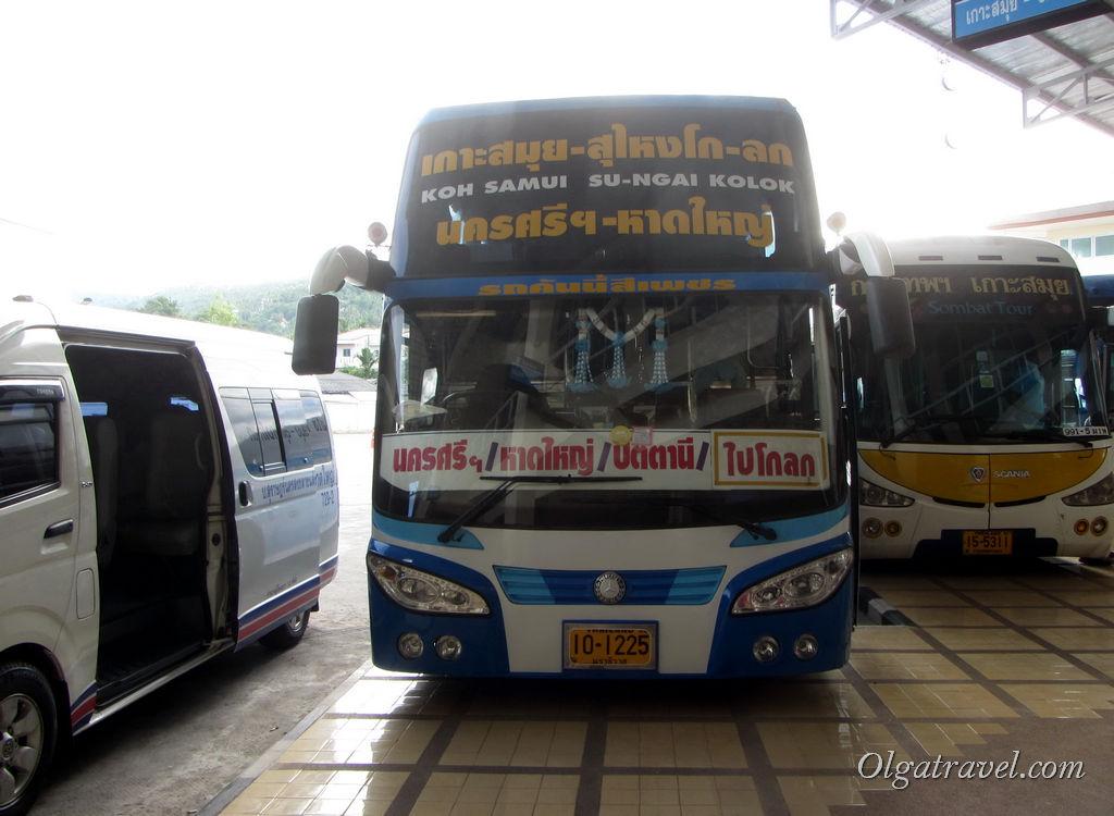 автобус Самуи Пенанг