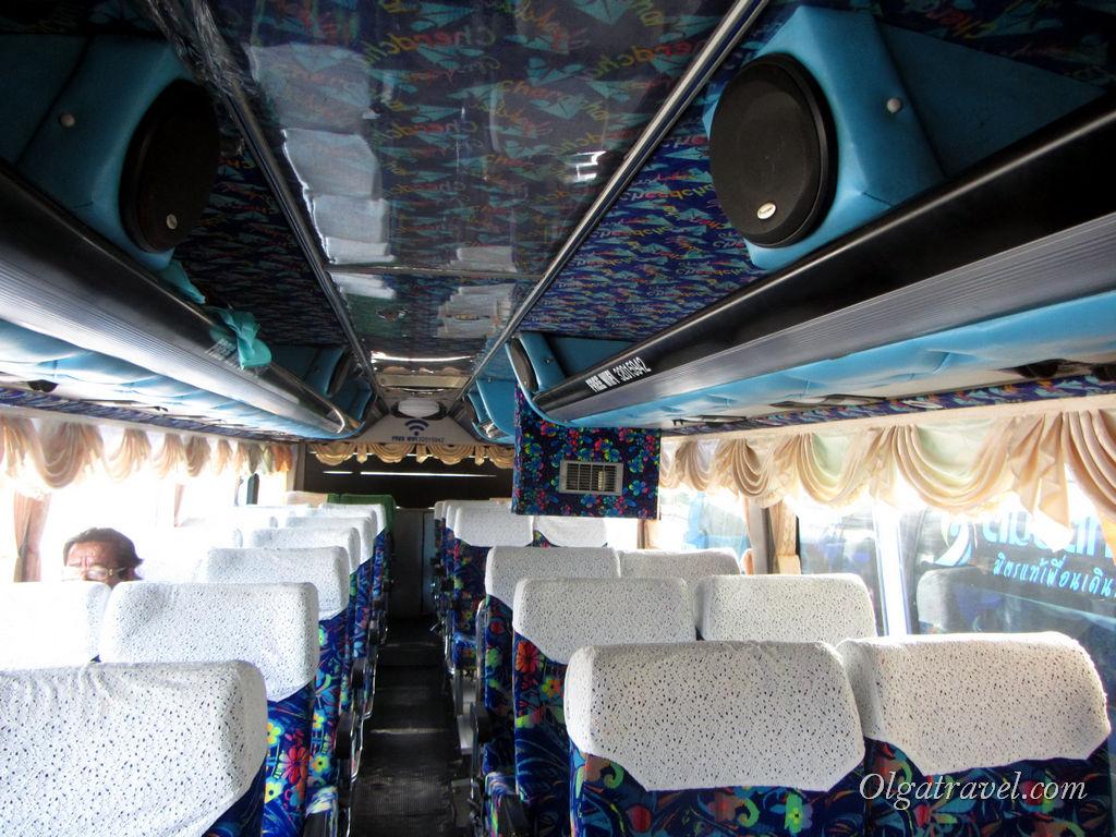 В автобусе Самуи - Пенанг