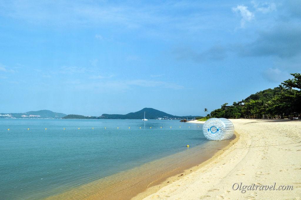 пляж W Самуи