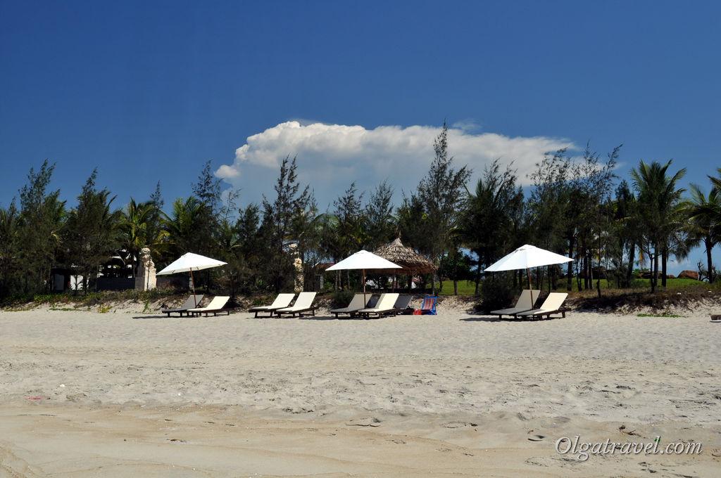 Хойан пляж