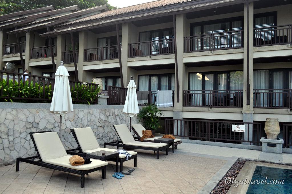 Довольно новый отель Impiana Resort на пляже Чавенг Ной