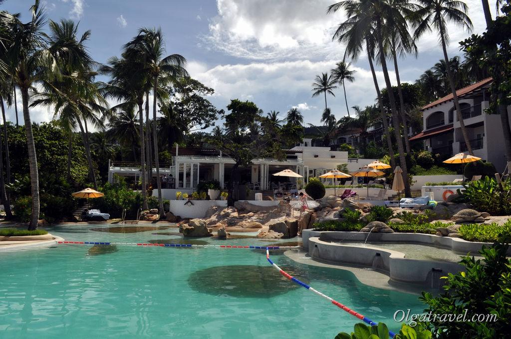 Sheraton Samui Resort отель Чавенг Ной