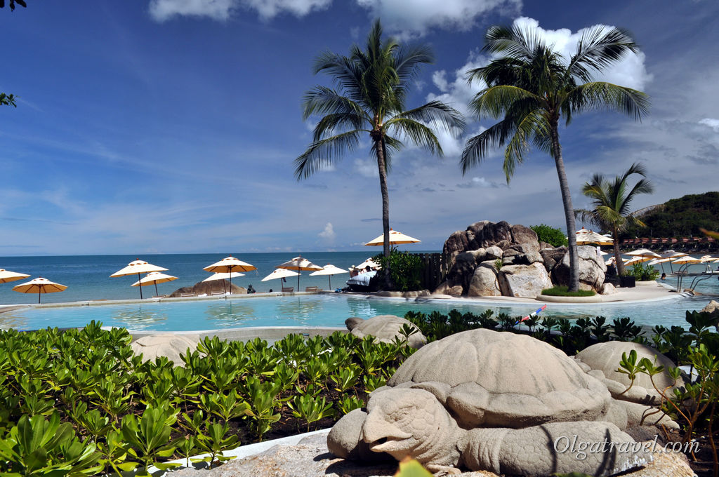 Sheraton Samui Resort отель на пляже Чавенг Ной
