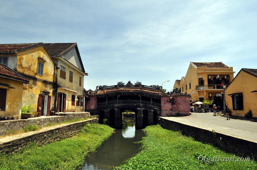 город Хойан Вьетнам Японский мост