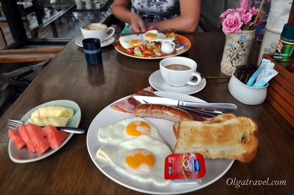 Панган завтрак