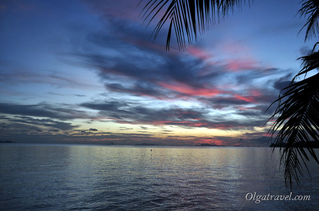 закат Панган