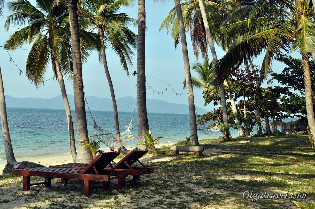 пляж Бан Тай отель