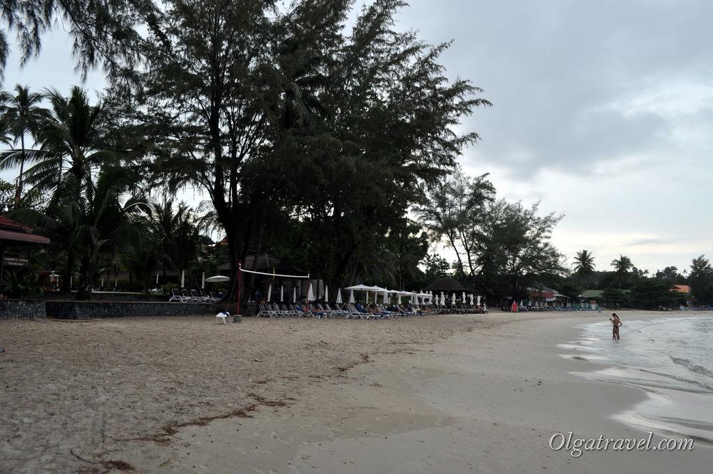 Пляж Чонг Мон в октябре