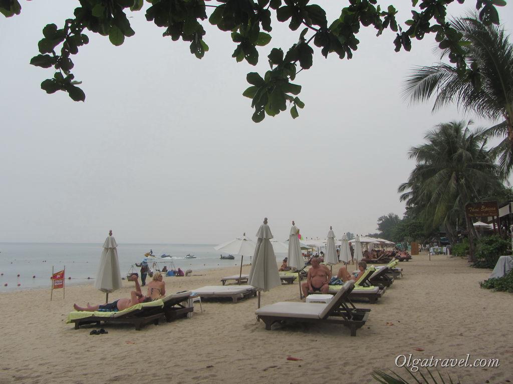 Пляж Ламай в октябре