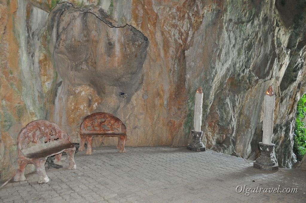 мраморные горы пещера
