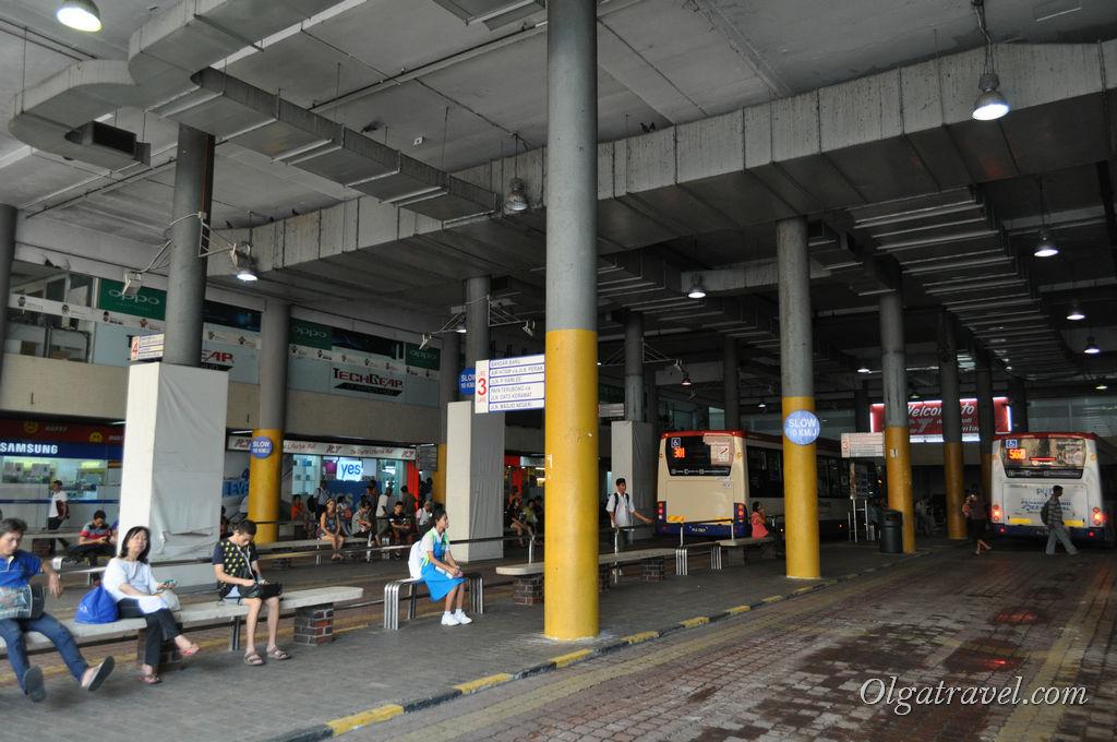 Автостанция Комтар Пенанг