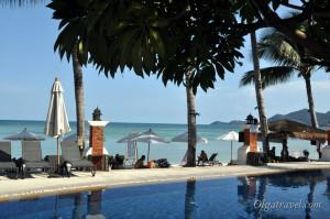 отели пляжа Чавенг