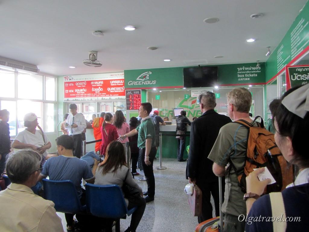 Чианг Май автобус green bus