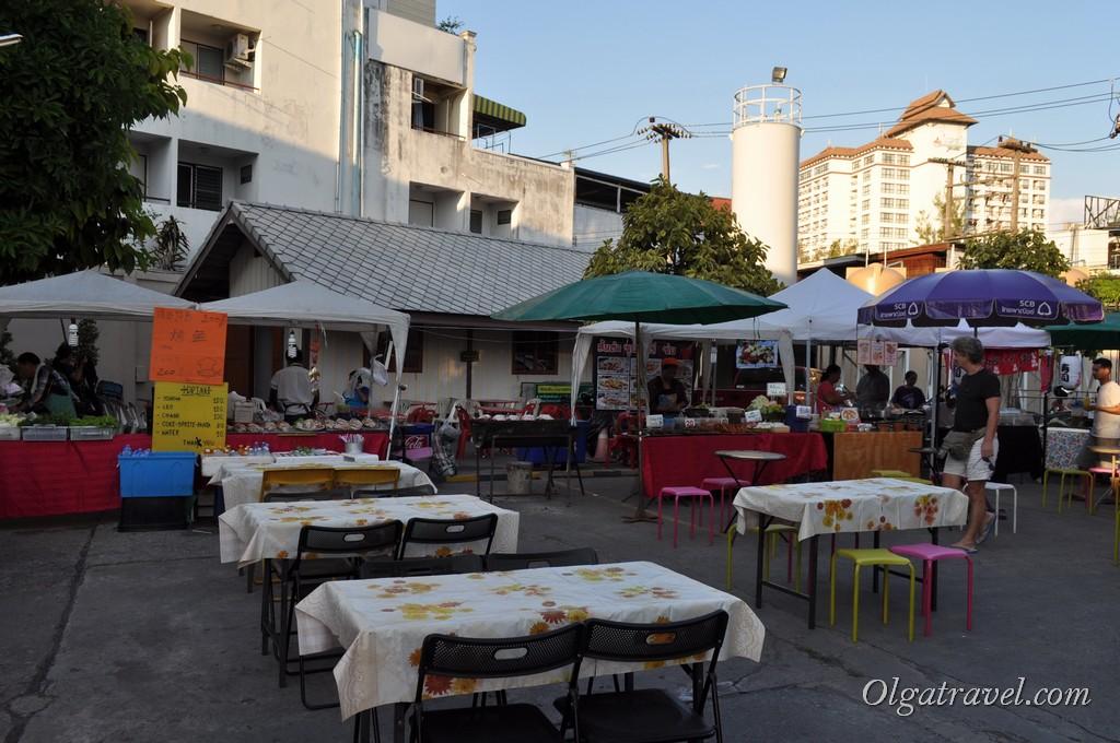 рынок Чианг Май еда