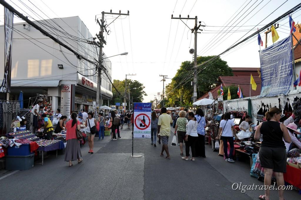 Чианг Май воскресный рынок