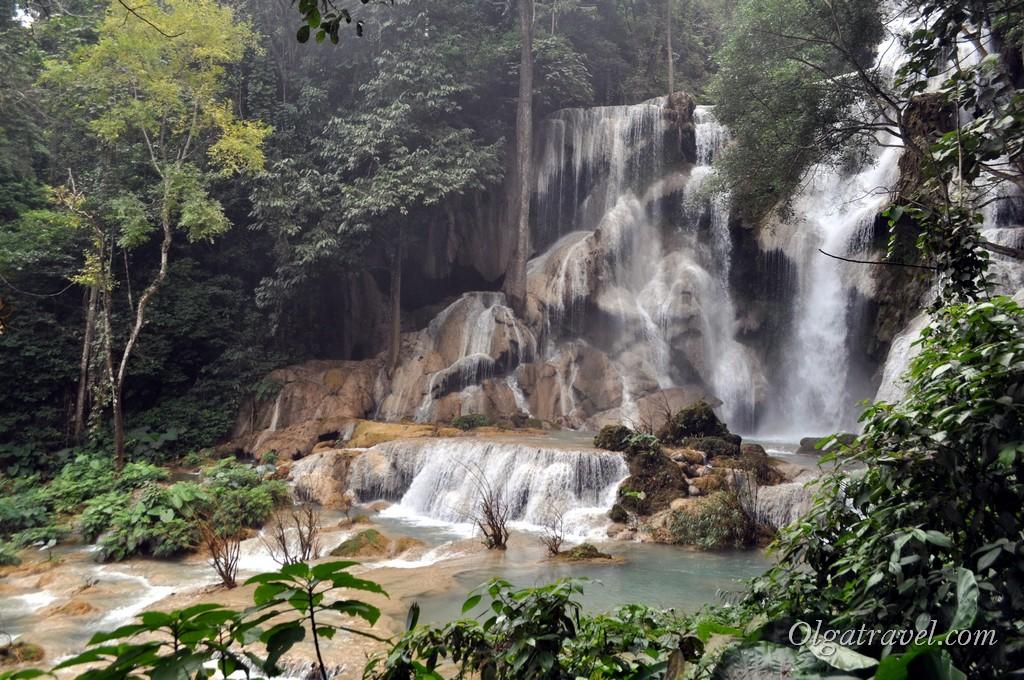 Куанг Си водопад Луанг Прабанг