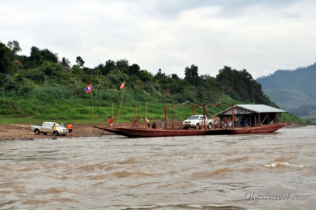Лаос Меконг