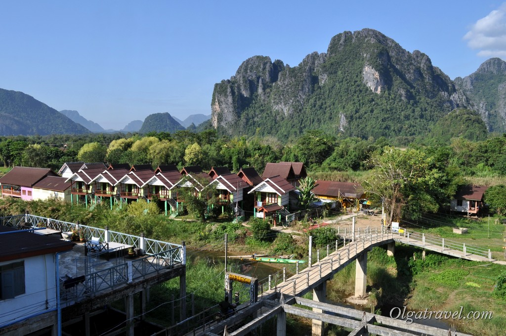 отдых в Лаосе Ванг Вьенг