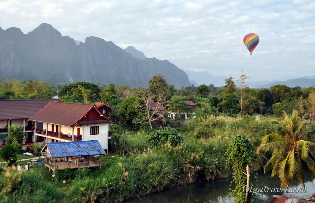 Воздушный шар в Ванг Вьенге