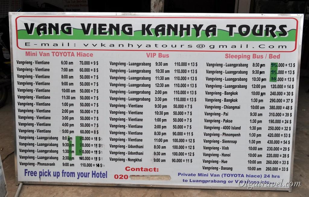транспорт в Лаосе