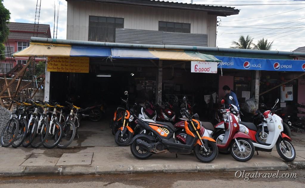 цены в Лаосе на байк