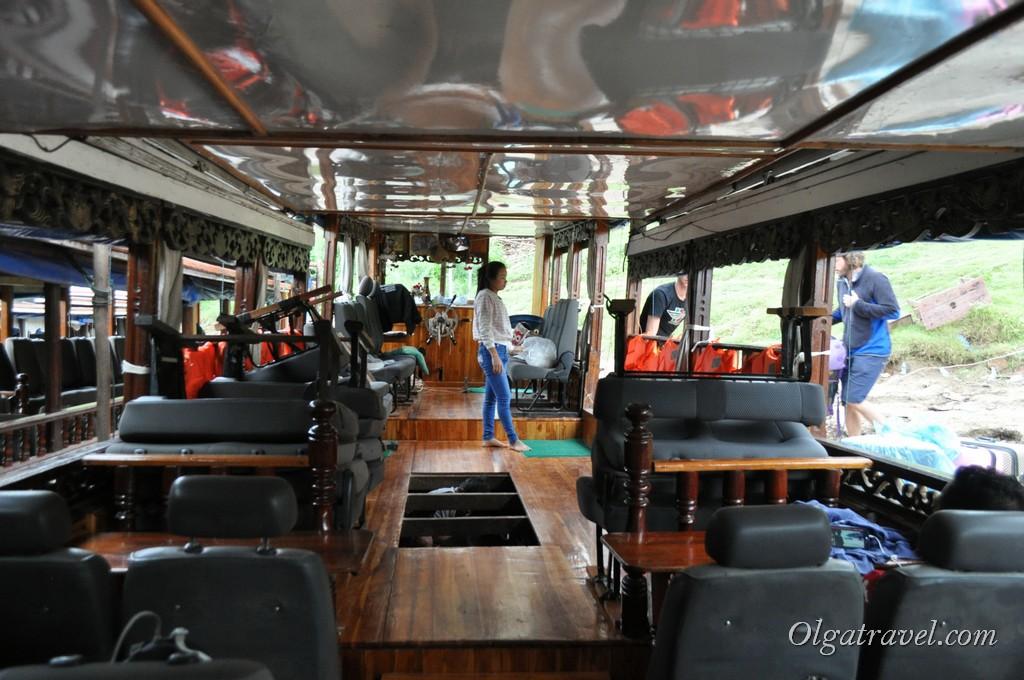 лодка Хуайсай Луанг Прабанг