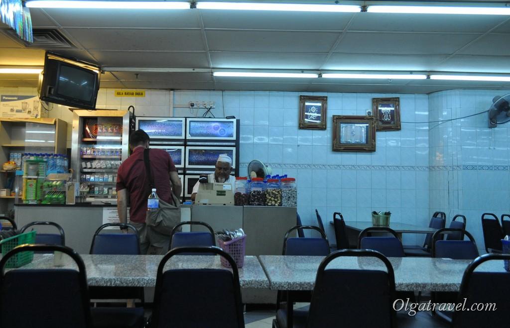 Индийская еда Пенанг