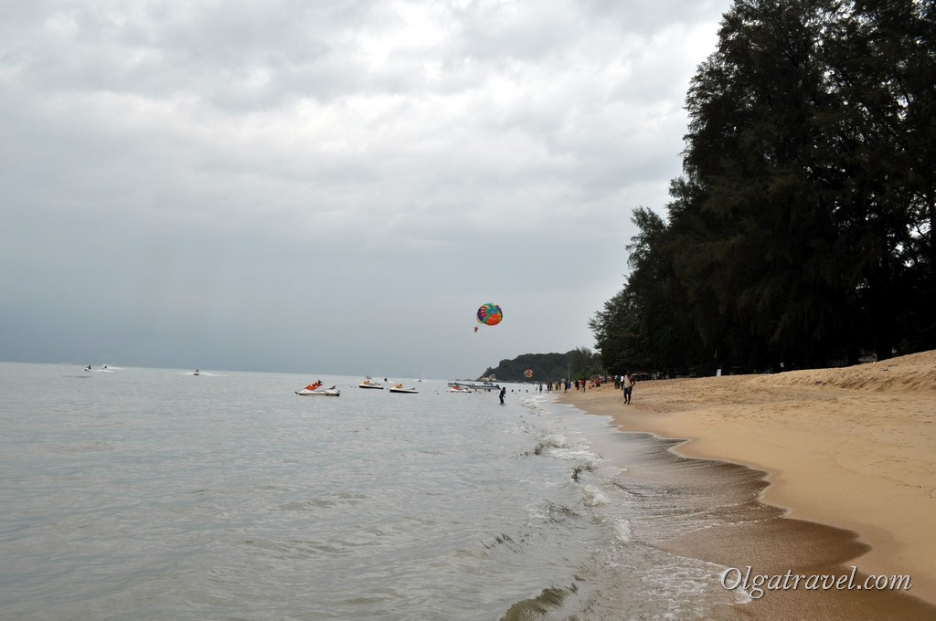 Пенанг пляжи