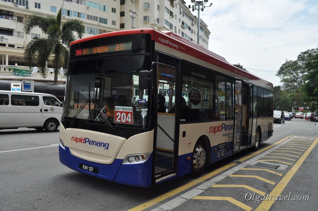 Пенанг автобус