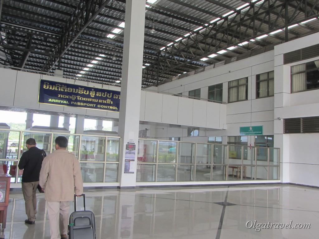 граница Таиланд Лаос