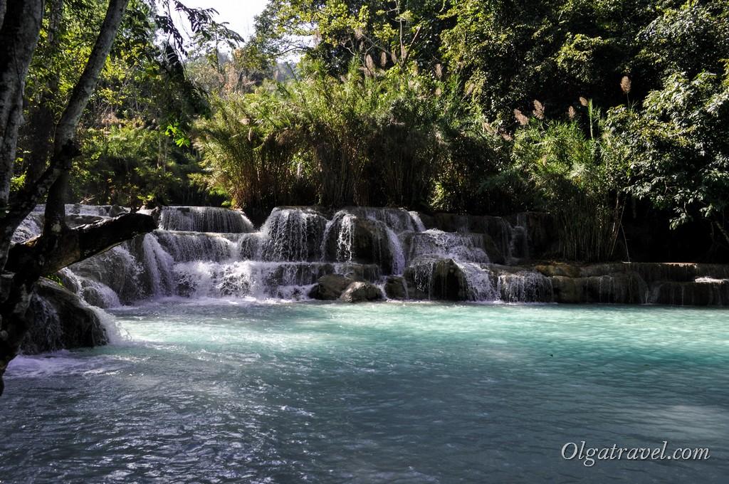 водопад Куанг Си