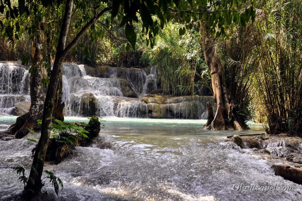 водопад Лаос