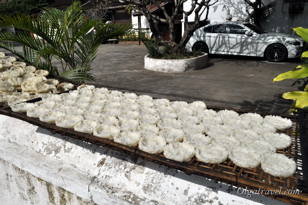 рис Лаос
