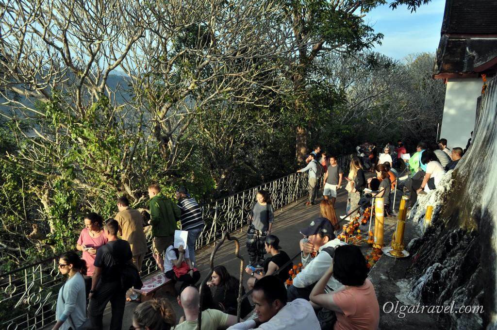 Луанг Прабанг гора Пху си