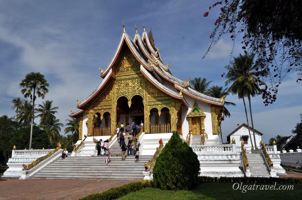 Храм Haw Kham Луанг Прабанг