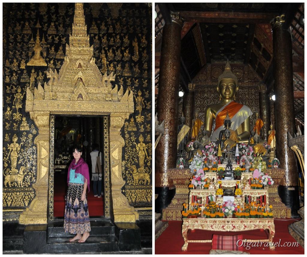 Лаос храмы